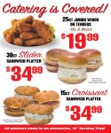 *30ct. Sandwich Sliders not Available in all Deli Locations.